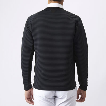 TAILORED HYBRID L/S SWEAT