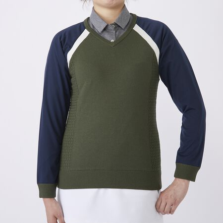 TAILORED V NECK SWEATER