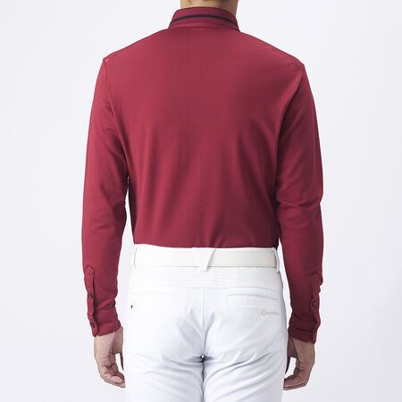 L/S TAILORED PIQUE POLO