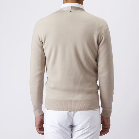 V NECK L/S SWEATER
