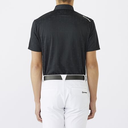 ALLOVER JACQUARD S/S POLO