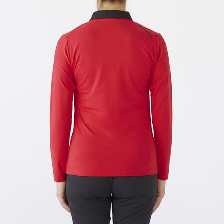 COLLAR CONTRAST L/S POLO