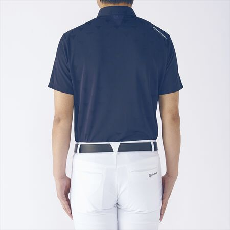 BD ALL OVER TRIANGLE S/S POLO