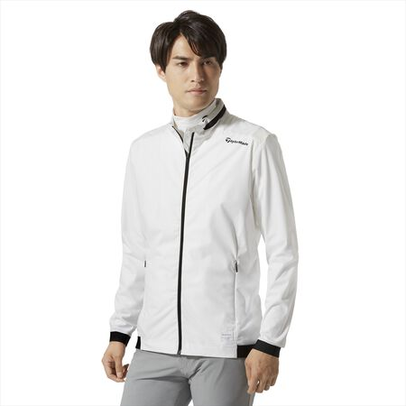 BASIC STAND COLLAR WIND JACKET