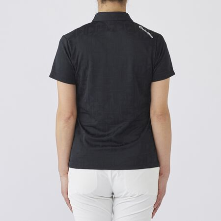 ALL OVER JACQUARD S/S POLO