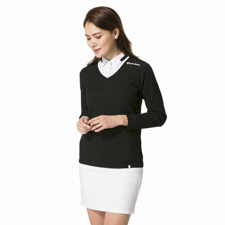 WHOLEGARMENT PULLOVER SWEATER