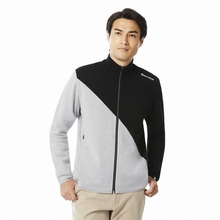 M WOOL BLENDED SWEATER JACKET