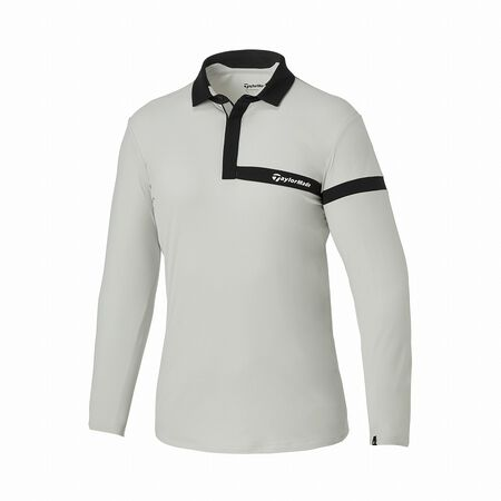 M BRUSHED L/S POLO
