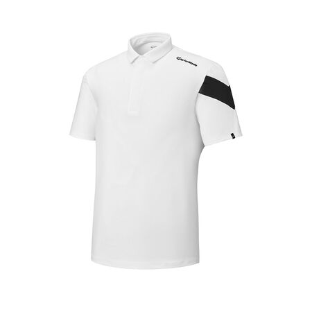 ASYMMETRY SLEEVE S/S POLO