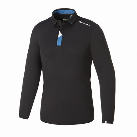M TAILORED L/S POLO