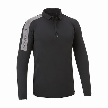 M DOUBLE TAILORED SEAMLESS L/S POLO