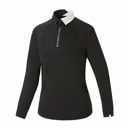 W DOUBLE TAILORED SEAMLESS L/S POLO