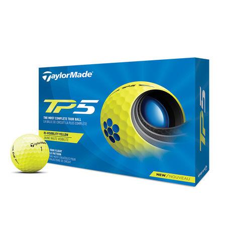 2021 TP5 Yellow Golf Balls