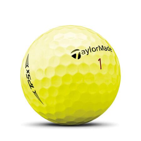 2021 TP5x Yellow Golf Balls